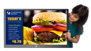 The endless possibilities of digital signage for restaurants