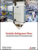Variable Refrigerant Flow: A Versatile HVAC Solution for K-12 Educational Facilities