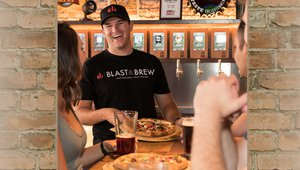 Beer and pizza: Self-pour technology adds fizz to the mix