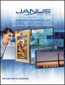 JANUS Displays Company Brochure 2016