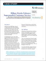 Billpay Kiosks Enhance Supermarket Customer Service