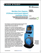 Meridian Kiosks, STOPware stand guard against unwanted visitors