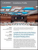 United Nations European Headquarters - Leyard TVH Series
