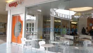Food tour execs then took a look at OrangeCup, a frozen yogurt concept that has several locations throughout Dallas.