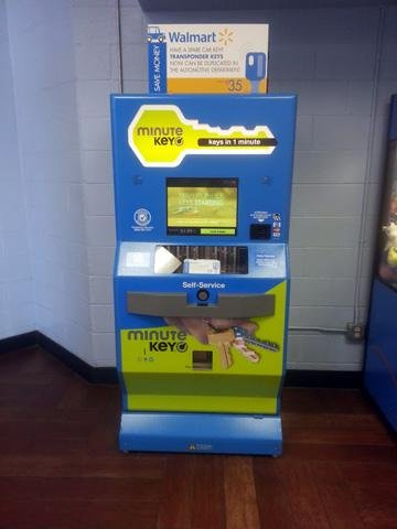 Key Maker Walmart >> Walmart A Self Service Tour Kiosk Marketplace