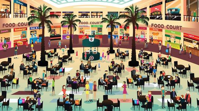 Food court digital signage delivers upsell