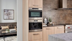 Dual oven options can pair a variety of options for the most discerning foodies.