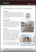Winning Silver Award for Transitions