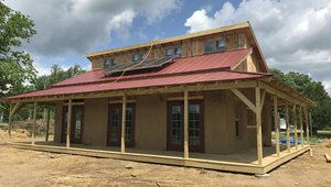Michigan students getting lesson in sustainable home building