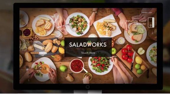 Saladworks refreshes brand with innovative technology, featuring Life Bar kiosks