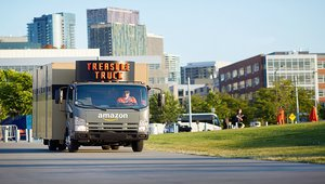 Amazon's Treasure Truck banking on retail consumer whimsy