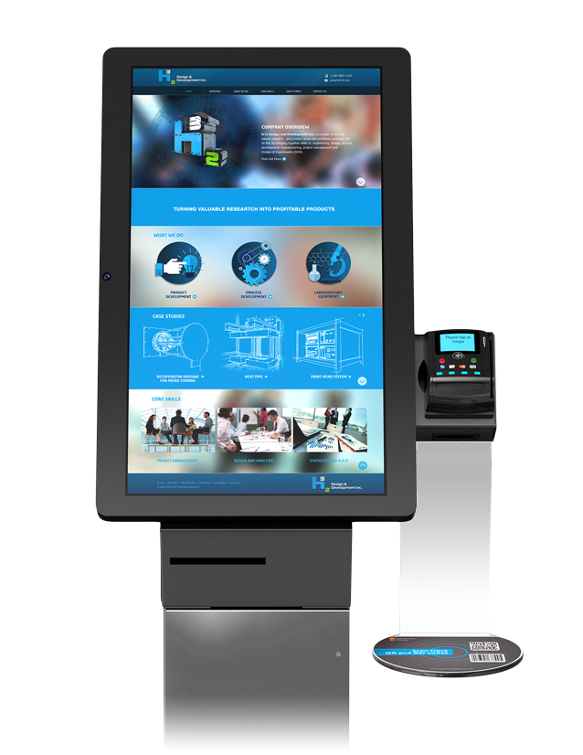 Ticketing Kiosk / Advanced Kiosks | Self-Service Solutions