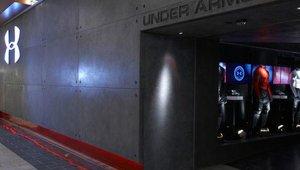 Under Armour prototype store