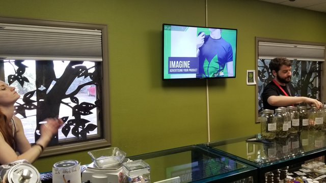 Cannabis retailers get high on digital signage, analytics
