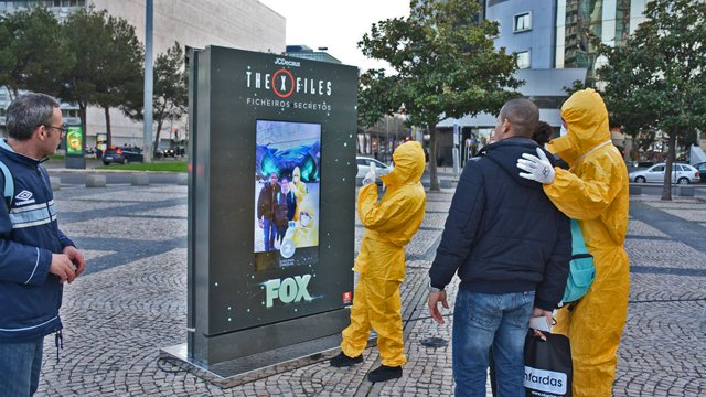 'The truth is out there': The X-Files comes to digital signage