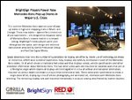 BrightSign Players Power New Mercedes-Benz Pop-up Stores in Major U.S. Cities