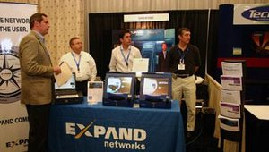 Expand Networks gave attendees information on its IT infrastructure, which serves a diverse range of customers from Continental Airlines to Motorola to the U.S. Department of Defense.