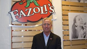 <p>Fazoli's President and CEO Carl Howard</p>