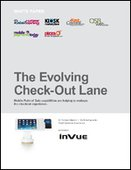 The Evolving Check-Out Lane