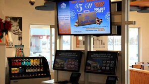 Remodeled White Castle with self-ordering stations