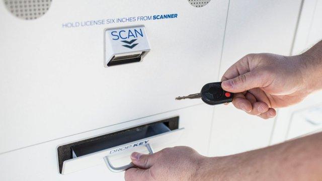 Ford teams with Panasonic to test vehicle key kiosks