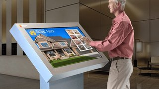 Real estate kiosks help buyers find their dream home