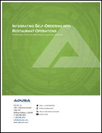 Integrating Self-Ordering into Restaurant Operations