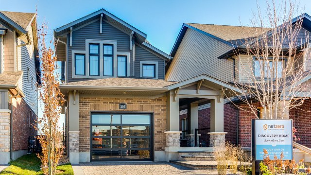 First home certified under Canada's Net Zero Energy program