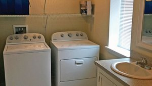ENERGY STAR laundry equipment helps to save energy and water.