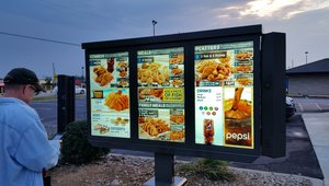 Long John Silver's adds high-definition video, audio to transform menu boards into interactive kiosks