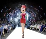 Minnie Mouse does the catwalk at Barneys NY (Video)