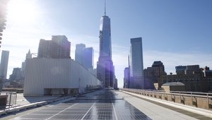 College home to New York's largest solar array