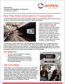 Real Time Video Information in Transportation