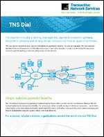Managed Dial Payment Transaction Gateway | Global, Resilient, Secure | TNS Dial