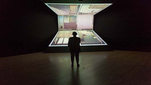 Projectors bring Japanese artist's vision to life
