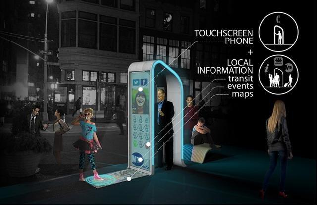 Reinvent The Payphone Digital Kiosk Design Finalists
