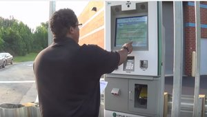 Kiosks keeping car emissions in check