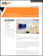 That's your queue – How digital signage helps reduce time perception