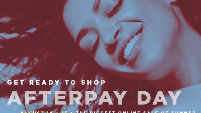 88e9716f30c Afterpay Day sale to offer instant financing with online fashion ...