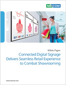 Connected Digital Signage Delivers Seamless Retail Experience to Combat Showrooming