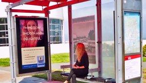 Digital signage key ingredient for tasty Instagram selfie ad campaign