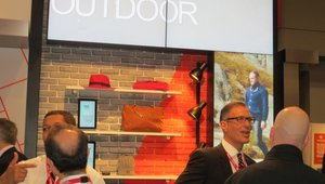 <p>Companies such as Samsung, NEC and others made sure to put an emphasis on display technology that's meant for outdoor settings. </p>