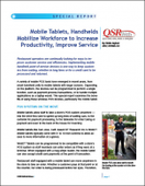 Mobile Tablets, Handhelds Mobilize Workforce to Increase Productivity, Improve Service