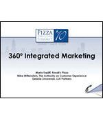 Pizza Summit 2010 Integrated Marketing_Extended Thoughts and Notes