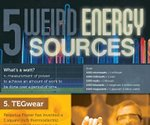 Make your own power with the Top 5 weird energy sources