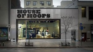 Nike Merchandising at Foot Locker House of Hoops