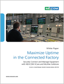 Maximize Uptime in the Connected Factory