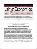 An Assessment of Labor Management Standards for the Restaurant Industry