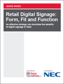 Retail Digital Signage: Form, Fit and Function
