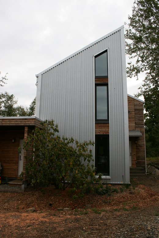 Great Green Home Birch House By Bundle Design Studio